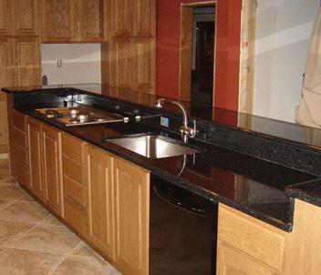 de travail en granite de cuisine en chine comptoir de granit. Black Bedroom Furniture Sets. Home Design Ideas