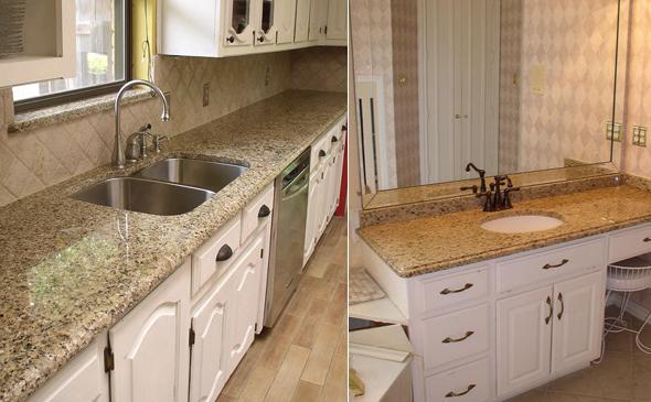 Arbeitsplatten und waschtische arbeitsplatten aus granit for Steinarbeitsplatten