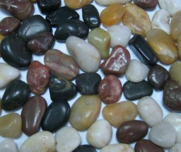 Natural del r o guijarro guijarro color guijarro piedra grava cantos rodados y piedra natural - Tipos de piedras naturales ...