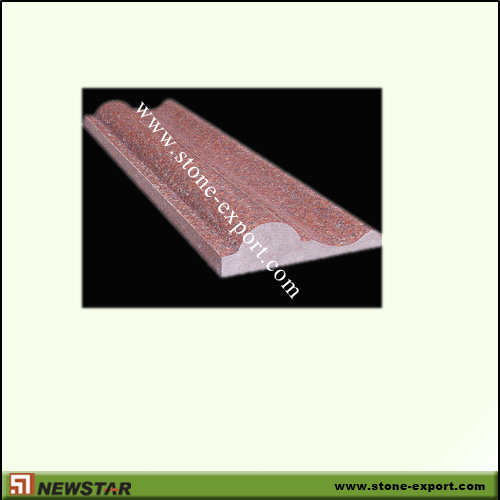 Construction Stone,Trim and Moulding,Ruby Red