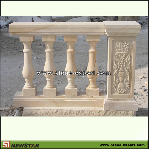 Construction Stone,Baluster and Railing,Sandstone