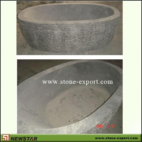 Natural stone bath tub onyx bathtub granite bathtub marble for Limestone tub