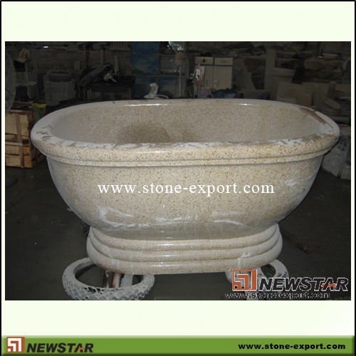 Construction Stone,Bathtub and Tray,G682 Golden Yellow