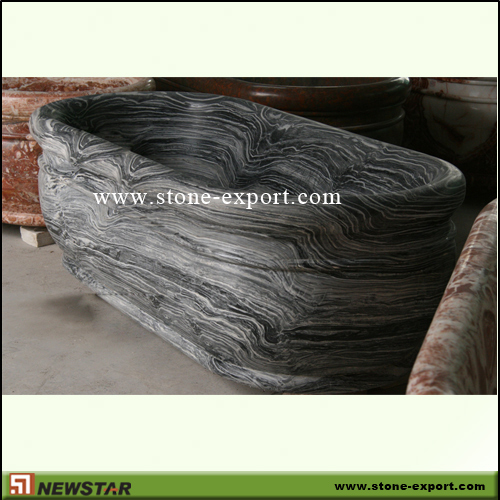 Construction Stone,Bathtub and Tray,Grey Flower Marble
