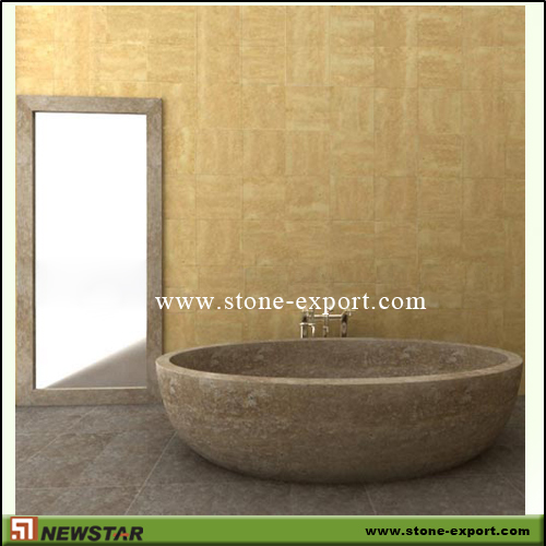 Construction Stone,Bathtub and Tray,Travertine