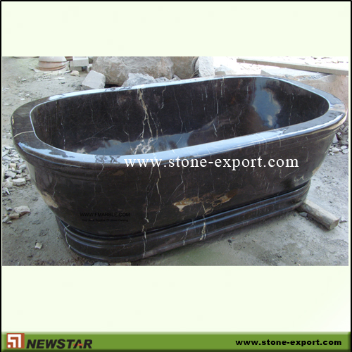 Construction Stone,Bathtub and Tray,Coffee Brown Marble