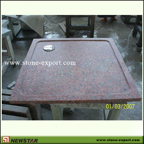 Construction Stone,Bathtub and Tray,Red Granite