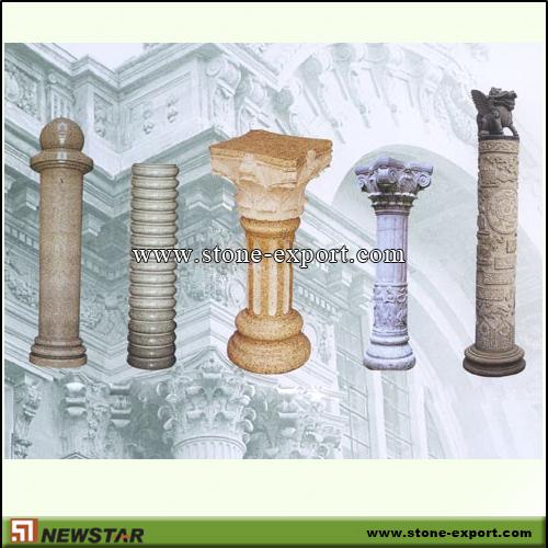Construction Of A Stone Pillar : Stone column columns pedestals pedestal