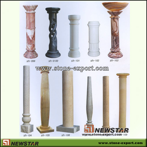 Construction Stone,Column and Pillars,Marble,Granite