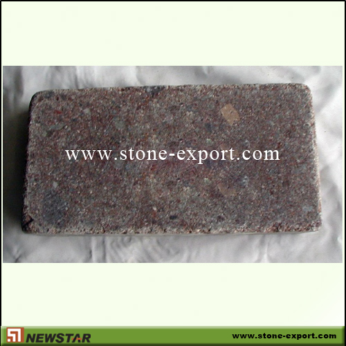 Paver(Paving Stone),Cubic Cobblestone,G666 Ocean Red