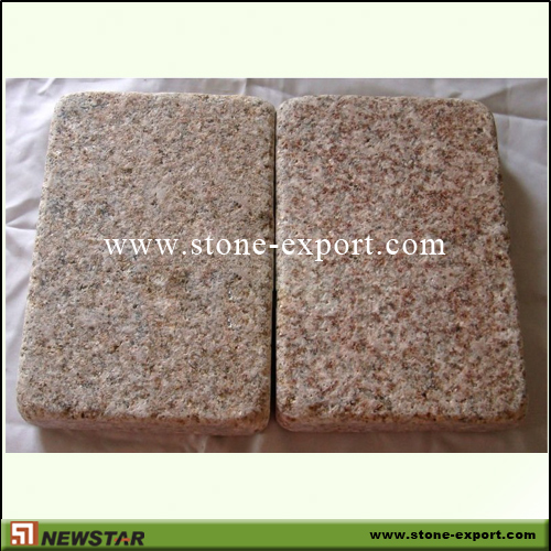Paver(Paving Stone),Cubic Cobblestone,G682 Golden Yellow