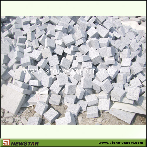 Paver(Paving Stone),Cubic Cobblestone,G602 Pand Gray