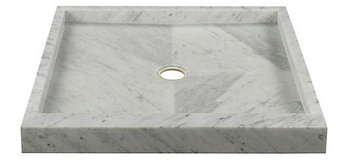 Cultured Marble   Shower Pan / Surround