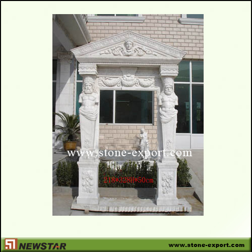 Construction Stone,Door and window Surrounds,White Marble
