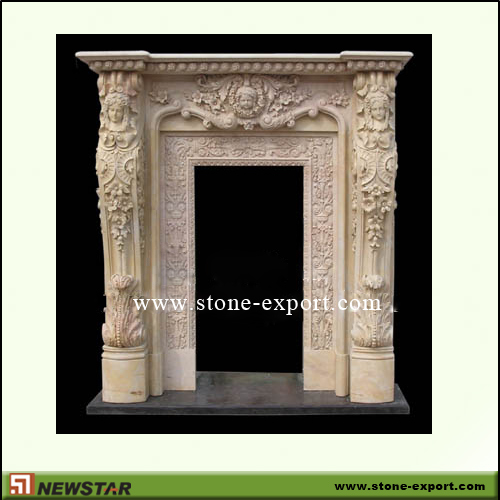Construction Stone,Door and window Surrounds,Henan Yellow Marble