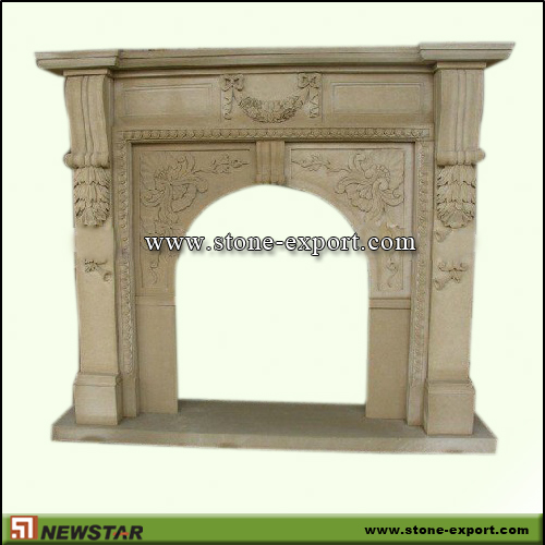 Fireplace Mantels,Sandstone Fireplace,Sandstone