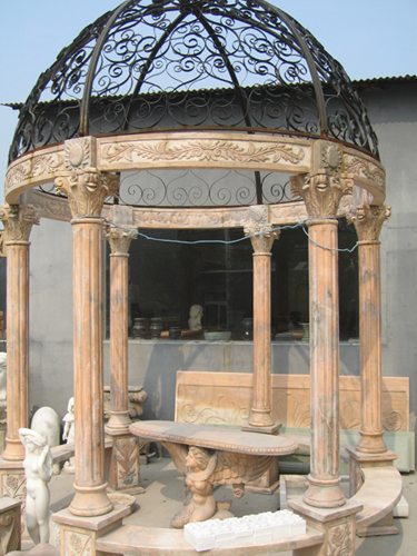 Stone Products Series,Stone Gazebo,Marble Gazebo