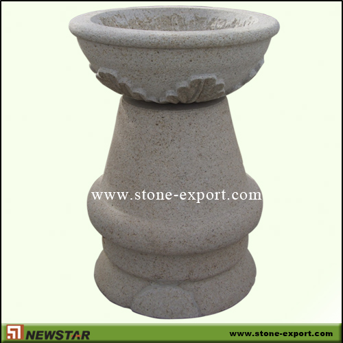 Landscaping Stone,Flowerpot and Vase,G682 Golden Yellow