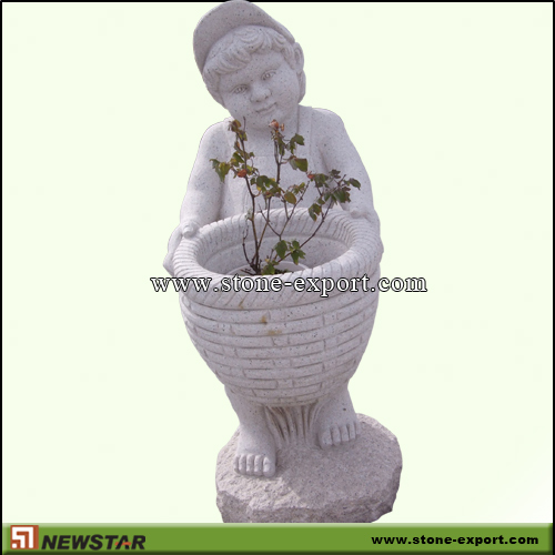 Landscaping Stone,Flowerpot and Vase,G603 Mountain Grey