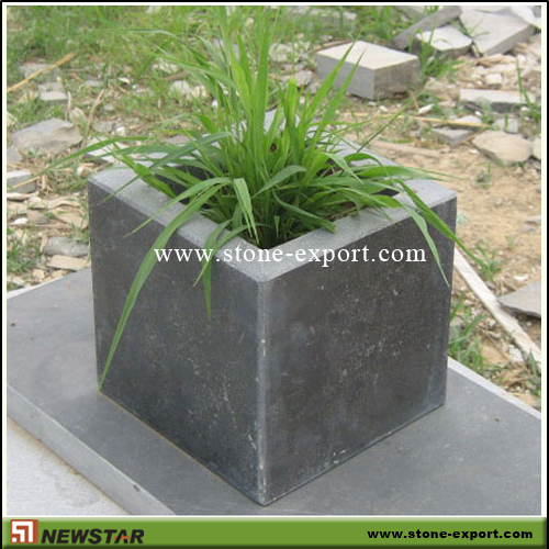 Landscaping Stone,Flowerpot and Vase,Blue Limestone