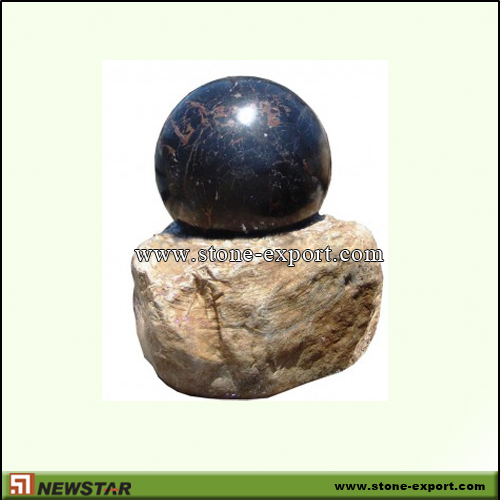 Landscaping Stone,Ball and Floating Sphere,China Nero Margiua