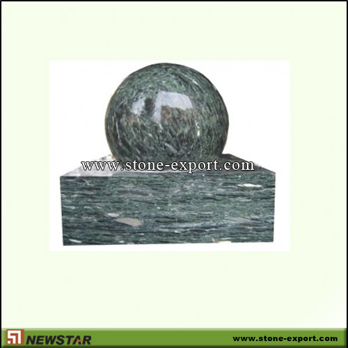 Landscaping Stone,Ball and Floating Sphere,Ocean green
