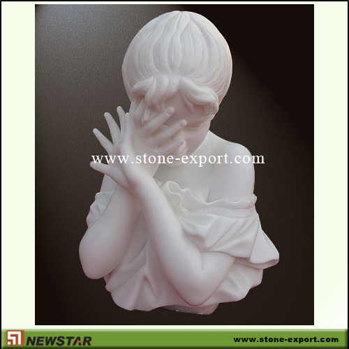 Landscaping Stone,Statue Carving,White Marble