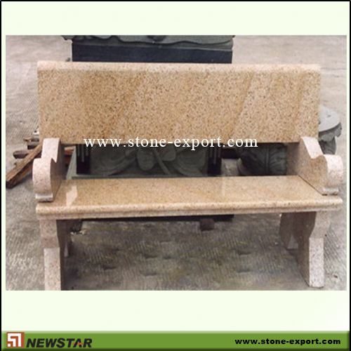 Landscaping Stone,Table and Bench,G682 Golden Yellow