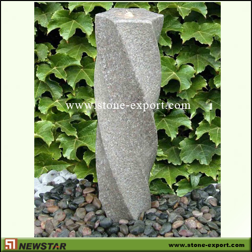 Landscaping Stone,Water Fountain,G681 Rosy Cloud