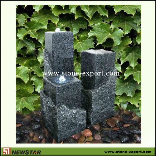 Landscaping Stone,Water Fountain,G654 Padding Dark