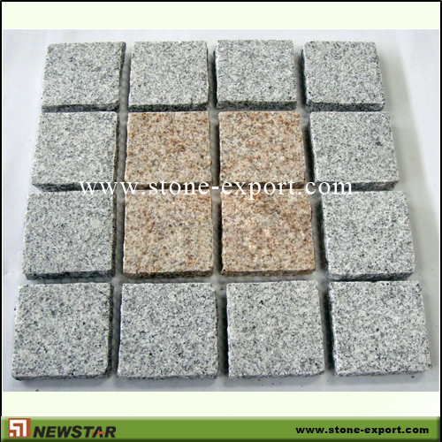 Paver(Paving Stone),Mesh Cobblestone,G603 Mountain Grey