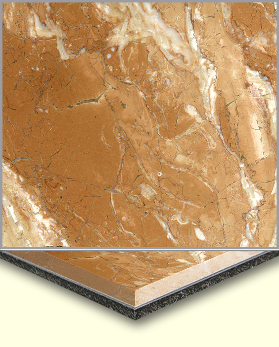 Marble Products,Marble Laminated Aluminum,Tea Rose