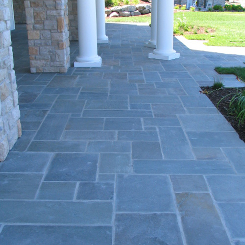 Slate French Pattern Slate French Pattern Travertine