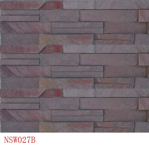 Slate and Quartzite,Cultured Stone,Red Slate