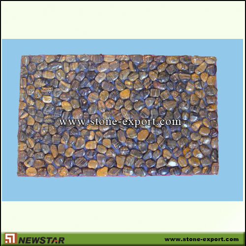 Pebble Series,Stone Mats,Stripe Pebble