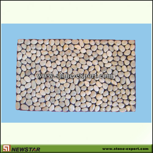 Pebble Series,Pebble Mat,White Pebble