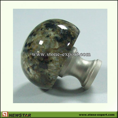 Construction Stone,Stone knobs and Handles,Granite China Green