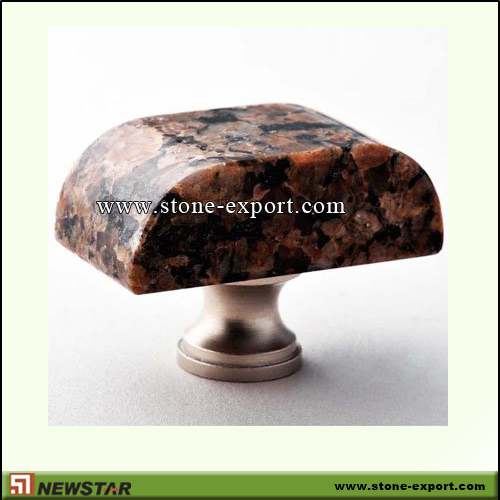 Construction Stone,Stone knobs and Handles,Granite Tropical Brown