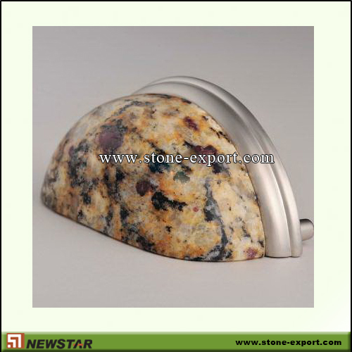 Construction Stone,Stone knobs and Handles,Granite Santa Cecilia