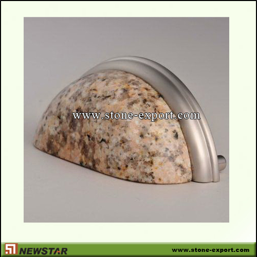 Construction Stone,Stone knobs and Handles,G682 Golden Yellow