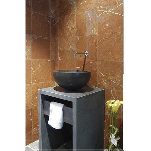 Stone Sink And Basin,Stone Pedestal,Absolutely Black