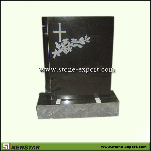 Tombstone,Headstone,Absoutely Black