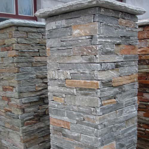 Slate Pillar Culture Stone Culture Slate Wall Slate