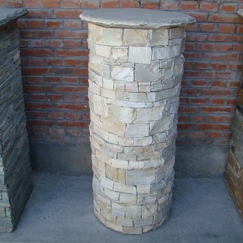 Slate Pillar, Culture Stone, Culture slate , Wall Slate ...