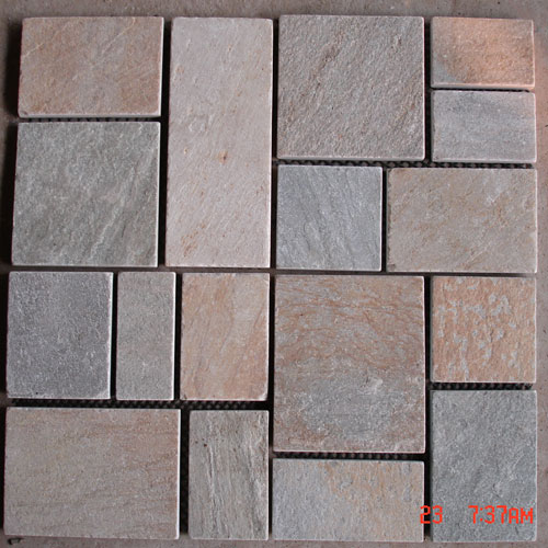 Slate and Quartzite,Slate Mats and Pattern,Red Slate