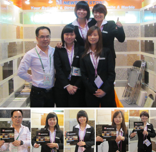 Newstar Int's Sale & Service team