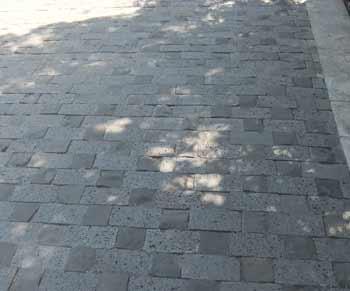 basalt pavers