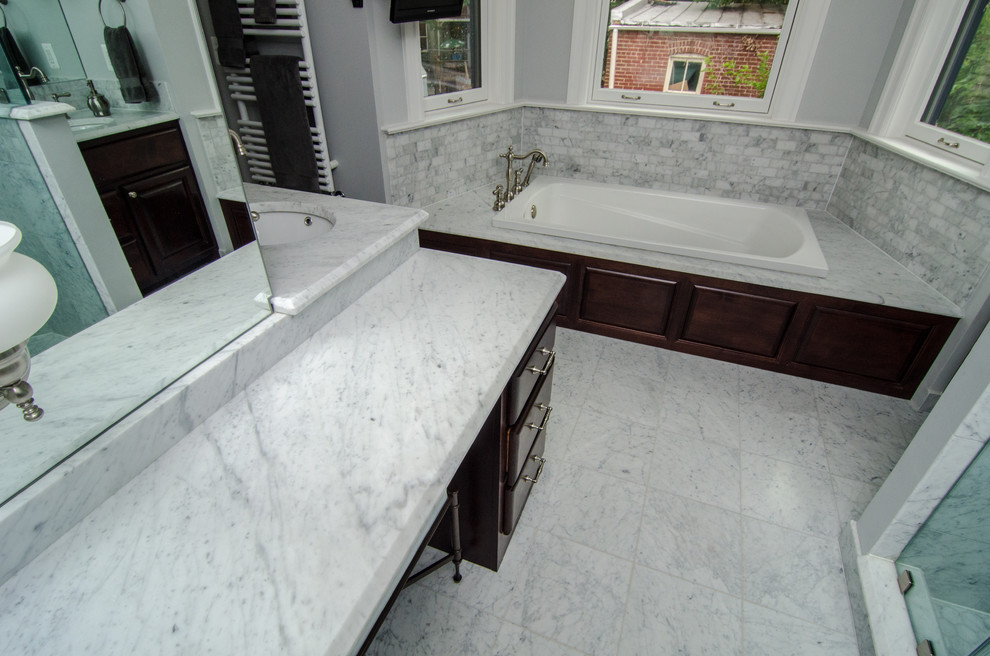 carrara marble tile