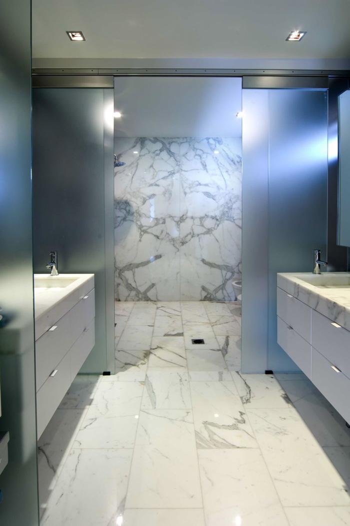 Marble Bedroom: Custom Fabricated Granite Countertops And Marble Vanity